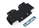 Защита радиатора + комплект крепежа,  Сталь, Nissan Patrol Y62 2014-, V - 5.6/Nissan Patrol Y62 2010-2014, V - 5.6