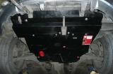 защита {картера и КПП} MITSUBISHI Outlander (2003 - 2006) 2,0;2,4 (кузов: CU_W) сталь 2 мм, Гибка, 1