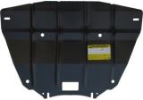 Защита (радиатор) BMW E-60 (5 серия) 2007-2010; V=2,0i, сталь 2 мм, [АКПП RWD вес 8,56кг, щитов: 1