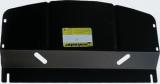 Защита (радиатор, двигатель, КПП, РК) BMW E-46 325i (универсал) 2000-2005; V=2,5i, сталь 2 мм, [АКПП
