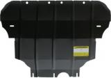 Защита (двигатель, КПП) Skoda Octavia III 2013-; V=1.4T, 1.8T;/Seat сталь 2 мм, вес 12кг, щитов: 1