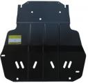 Защита стальная 2 мм Д,КПП VW Caddy 1,2 TSI Webasto 2010>