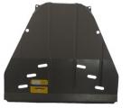 Защита (двигатель, КПП) Chevrolet Rezzo 2004-2008; V=1,6i, сталь 2 мм, [с МКПП вес 11,69кг, щитов: 1