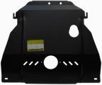Защита (двигатель, КПП) Chevrolet Cobalt 2013-; V=1,5i, сталь 2 мм, [с МКПП с отверстием под слив м