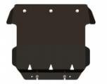 Защита картера, JEEP Cherokee (KK), 2,8; 3,7, 2007 -, сталь 2,5 мм