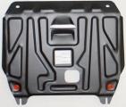 Защита картера двигателя и кпп Hyundai Solaris V-1,4; 1,6 (2010-2014-)