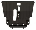 Защита для картера и КПП TOYOTA Avensis (T25), ( 24.481) 1,6; 1,8; 2,0; 2,4; 2,0D; 2,2D, 2002 - 2008