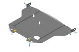 Защита стальная 2 мм Д, Р устанавливается поверх пыльника. Lexus GS 300