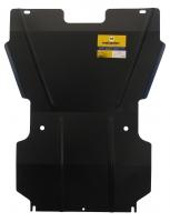 Защита (двигатель, КПП) Tagaz Tager 2008-; V=2,3, сталь 2 мм, [задний привод (RWD) вес 11,53кг, щи