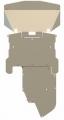 Защита для картера и КПП BMW 5(E60) 04–06 2,5