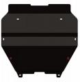 Защита {картера и КПП} VOLKSWAGEN T5 (4motion)/для машин без пыльника (2003 - 2010) 2.0, 2.5 ; сталь