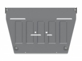 защита (картера и КПП) FORD Kuga 2 (2017 -) 1,5 EcoBoost АТ 4wd/2wd {сталь 1,5 мм}