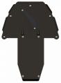 Защита {картера и КПП} BMW 7ER (2001 - 2008) 3,0; 3,5; 4,0; 4,5; 5,0; 6,0 (кузов: E 65 ; E 66) сталь