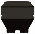 Защита картера и КПП, VOLKSWAGEN Multivan/T5 (4motion) , 2,0; 2,5, 2003 -, сталь 2