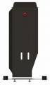 защита {редуктора} PORSCHE Cayenne (2002 - 2010) 3,2; 4,5; 4,8 ; сталь 2,5 мм, Гибка, 5кг., 1 лист