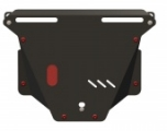 Защита картера и КПП Honda CR-V 09.0707