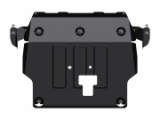 защита {картера и КПП} HYUNDAI Creta (2016 -) 2,0 АТ 4wd (сталь 2 мм) Штамповка (12,09кг) 1 лист, 1