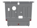 Защита картера и КПП HYUNDAI Solaris (2017 -) 1,4 АТ; 1,6 АТ; 1,6 МТ; {сталь 1,5 мм}