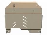 Защита {картера и КПП} CHEVROLET Captiva (2006 - 2011) 2,0; 2,4; 3,2 (кузов: KLAC/D (C100)) алюминий