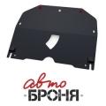 Защита картера Автоброня, , Cadillac BLS V - 2.0, 2.8, 2006-2009, крепеж в комплекте, сталь, ()