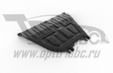 защита картера и КПП Автоброня Hyundai Solaris, V - 1,6; АКПП