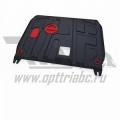 защита картера и КПП Автоброня Mercedes Benz Vito FWD V-1,6d (88hp;114hp)