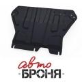 Защита картера и КПП Skoda Octavia А7 V - 1,4 TSI, 1,8 TSI; 1,6mpi (2013-)+ креп. (без Webasto)