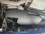 Защита топливный бак и редуктор Hyundai Santa Fe 2 части 2018-
