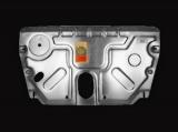 """Защита картера двигателя и КПП TOYOTA """"Camry"""" (2006-2010) 2.4л, """"Solara"""" (2004-2008) 2.4л алюминий"""