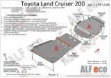 Защита картера и КПП LC 200/Lexus 570 2007-