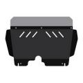 Защита картера и КПП для SKODA Roomster, 2 007-2 009, 5J, сталь 2 мм