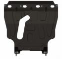защита {картера и КПП} CHEVROLET Lanos (2007-) все (кузов: T100) сталь 2 мм, Штамповка,