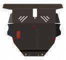 Защита {картера и КПП} BYD F3 (2007 -) 1,6 ; сталь 2 мм, Гибка,