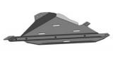 Защита (Раздаточная Коробка) Chevrolet TrailBlazer, 2013-; 2,8i AКПП; сталь 3 мм, вес 12,2кг, щитов: 1