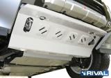 Защита радиатора  Алюм, Mitsubishi Pajero IV 2011-, V - 3.0; 3.2d(188л.с.; 200л.с.); 3.8/Mitsubishi Pajero III 1999-2006, V - все/Mitsubishi Pajero IV 2006-2011, V - 3.0; 3.2d(188л.с.; 200л.с.); 3.8