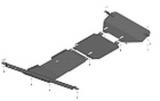 Защита стальная Мотодор 13109 Haval H8