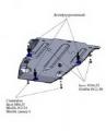 Защита для КПП (комплект без балки) Audi Q5