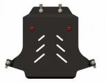 Защита {картера} CADILLAC CTS (2007 -) 2,8; 3,6 (кузов: SD) сталь 2 мм, Гибка, 4,21кг., 1 лист