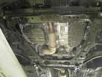 Защита картера двигателя и кпп для Nissan X-Trail(T32)15-,V-все,прив.все/Qashqai 14-,V-все,прив.все/