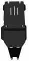 защита {КПП и РК} PORSCHE Cayenne Turbo (2002 - 2010) 4,5 (кузов: 955) сталь 2,5 мм, Гибка, 14,07кг.