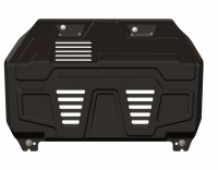 защита {картера и КПП} KIA Sportage (2004 - 2010) 2,0; 2,0d; 2,7 ; сталь 1,8 мм, Штамповка, 7,15кг.,