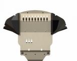 Защита {картера и КПП} BENTLEY Continental (2003 -) 6 ; алюмин. 5 мм, Гибка, 16,75кг., 1 лист