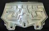 """Защита радиаторов BMW """"X6"""" (2008-2014) алюминий"""