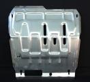 """Защита картера двигателя и КПП CADILLAC """"SRX"""" (2010-) алюминий"""
