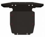 Защита {картера} VOLKSWAGEN Touareg (2010 -) 3.0TDI ; 3.6FSI ; 4.2 FSI ; 4.2TDI (кузов: 7P5) сталь.