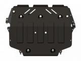 Защита {картера и КПП} VOLKSWAGEN Caddy/Golf VI GTI (2008 - 2013) 2.0 MT (кузов: 5) сталь 2 мм
