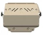 Защита {картера и КПП} SEAT Altea Freetrack/ Leon (2012 -) 1.8 DSG ; алюмин. 5 мм, Гибка, 13,23кг., 1 лист