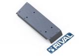 Защита топливного бака Rival, , Toyota Tundra V - 5.7, 2007-, крепеж в комплекте, алюминий, ()