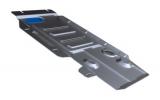 Защита КПП и РК Rival, , BMW X3 V - 2.0d, 2.8i, 3.0d, 2010-, крепеж в комплекте, алюминий, (вывели, артикул замены 333.0507.2)