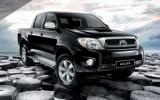 Защита топлив. бака Toyota Hilux 2011-